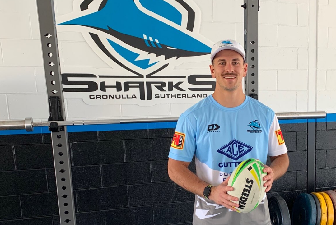 Jay's working for the Sharks!