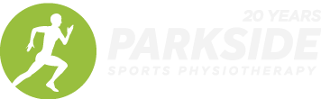 Parkside Sports Physio 20 Years Logo